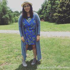 LuLaRoe Americana • LuLaRoe Julia oversized and hemmed • LuLaRoe Sarah • Steve Madden Booties • LuLaRoe Rachel Brown -  Prattville, AL •