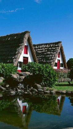 Santana settlers houses - Madeira Island