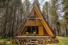 Yosemite A-Frame Cabin | HiConsumption
