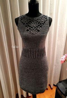Kijk wat ik gevonden heb op Freubelweb.nl: een gratis haakpatroon van CreaChick om deze mooie jurk te maken https://www.freubelweb.nl/freubel-zelf/gratis-haakpatroon-jurk/