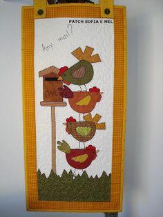 tapiz gallinas