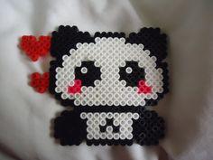 Panda perler Lover by *PerlerHime on deviantART