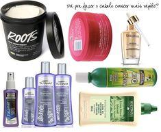 Produtos que estimulam o crescimento dos cabelos!!!