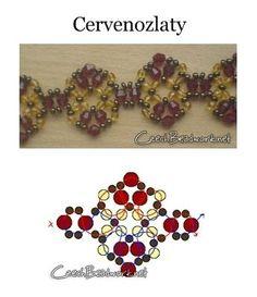 Free Beaded Jewelry Patterns | Found on artbiser.com.ua