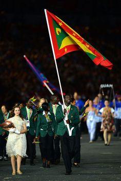 Goooooo Kirani James, we are so proud of you, Grenada & the world is with you!