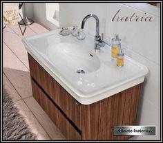 Lavoar dreptunghiular Hatria Dolcevita 100 cm Sink, Vanity, Bathroom, Home Decor, Sink Tops, Dressing Tables, Washroom, Vessel Sink, Powder Room