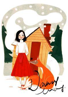 Berlin based illustrator Nancy Zhang