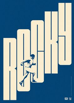 2104. La Boca proposal for 20th Century Fox. - Rocky film poster.