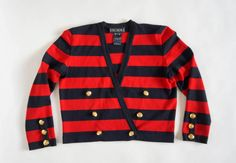 Hello Im happy youre here PANDORA FASHION shop  I offer vintage ESCADA by MARGARETHA LEY sweater AUTHENTIC ! color : red/black 100% new wool  Made in Germany size on tag 38 (european size) but in my opinion ist bigger used in very good condition total length 53 cm/ 20,87 inch width shoulders 43cm/16,93 inch width armpit to armpit 57 cm/ 22,44 inch length sleeves 60 cm/ 23,62 inch    If you have any question write to me   JOIN ME ON FACEBOOK  https://web.face...
