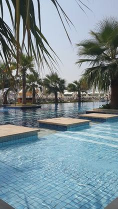Relax by the pool at Fairmont.