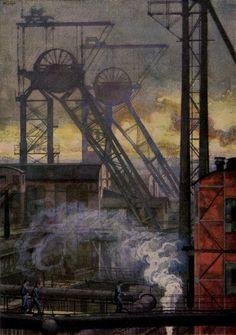 Westphalen Coal Mine (1922), Heinrich Kley