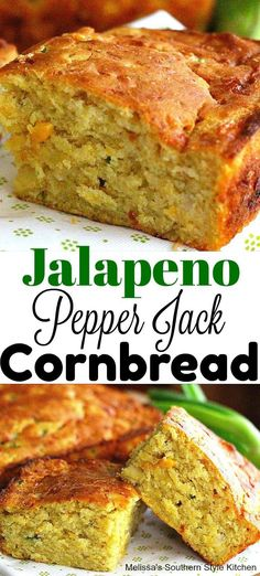 Lower Excess Fat Rooster Recipes That Basically Prime Jalapeno Pepper-Jack Cornbread Buttery Cornbread Recipe, Southern Cornbread Recipe, Honey Cornbread, Mexican Cornbread, Homemade Cornbread, Jalapeno Cornbread Muffins, Broccoli Cornbread, Cornbread Recipes, Cornbread Mix