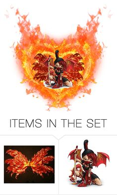 """""""Hearts On Fire!"""" by kksnanny ❤ liked on Polyvore featuring art"""