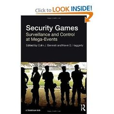 Price: $135.00 - Security Games: Surveillance and Control at Mega-Events - TO ORDER, CLICK THE PHOTO