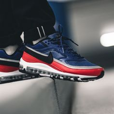 big sale 8166e 3a303 Nike Air Max 97 BW (blau   rot) - AO2406-400