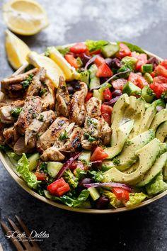 #Salat #Hähnchen #Fleisch