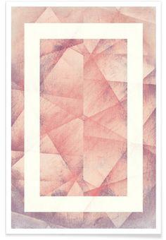 Folds als Premium Poster von Bryon S. White | JUNIQE