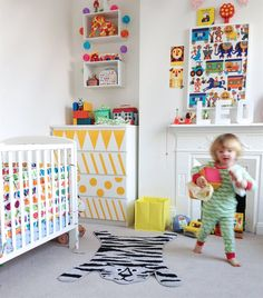 Patterns, patterns, patterns | Inspire your kids' creativity with an assortment of shapes and stripes | Nina's colourful home in London