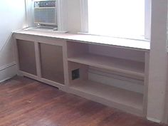 Radiator cover & bookshelf - by Urban Exteriors Brooklyn NY