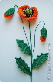 Вязание крючком - Цветы и игрушки, связанные крючком