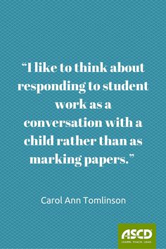 It's all about helping students learn to learn more effectively.