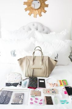 aab4a7213621 What s in my Bag  Fashion Week Edition