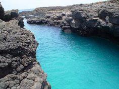 natural swimming pool - Buracona (Sal Island, Cape Verde)