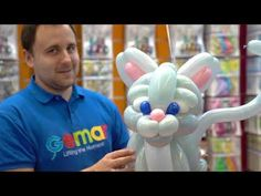 Ballon Animals, Twisting Balloons, Balloon Crafts, Balloon Dog, Holidays And Events, Videos, Smurfs, Dog Cat, This Is Us
