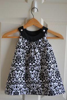 Little Quail: Snappy Toddler Dress. This looks like Lorelei @Meagan Finnegan Doran                                                                                                                                                                                 Más