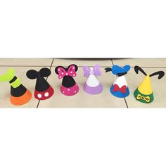 Mickey Mouse Clubhouse Party Hats 12 by PerfectlyBoutique on Etsy