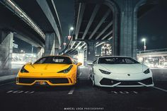 Ferrari 458 Special And Huracan By Marcel Lech