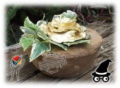 Ground_Coffee_Bowl_Flower_Bowl_Vase_Centre_Piece_Gifts_Favours_with_a_forever_flower_+_Ivy