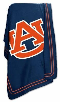 Auburn Fleece throw-blanket $12.99