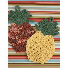 Lily Sugar 'n Cream Pineapple Dishcloth