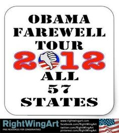 Obama Farewell Tour 2012