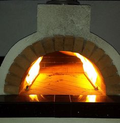 Propane Wood Fired Brick Pizza Oven by BrickWood Ovens Outdoor Gas Pizza Oven, Outdoor Kitchen Patio, Outdoor Kitchen Design, Wood Oven, Wood Fired Oven, Wood Fired Pizza, Oven Diy, Diy Pizza Oven, Ovens