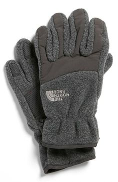 The North Face  Denali  Gloves (Big Boys) available at  Nordstrom Big 60ccc605bfc0