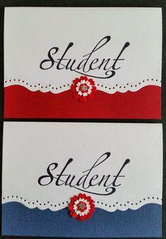 kortblogger: studenter kort . Boy Cards, Stone Art, Inspire Me, Paper Crafts, Place Card Holders, Diy, Inspiration, Design, Students