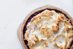Fork up a slice of this pie on days before and after a tough workout: Anti-inflammatories in blueberries can help ease muscle pain.