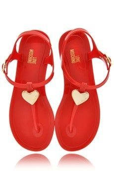 4d5a0b11ff2 Moschino Sandals They re so cute! Like something I would wear as a kid