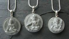 Soapstone Necklaces (Buddha/Green Tara/Ganesh)