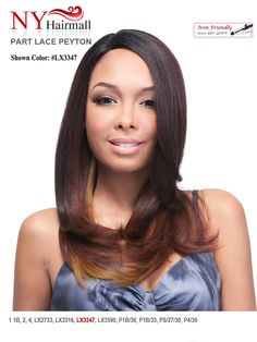 NEW TYPE OF WIG FROM IT'S A WIG  It's a Wig Synthetic Part Lace Front Wig - Peyton  http://nyhairmall.com/wig-and-weave/new-arrivals/it-s-a-wig-synthetic-part-lace-front-wig-peyton.html