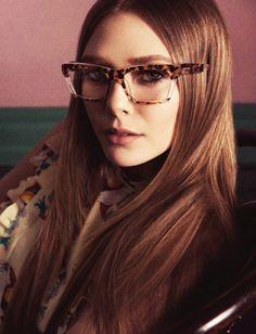 Miu Miu Spring 2014 Eyewear Campaign - Elizabeth Olsen