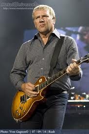 Alex Lifeson - a little older, but still awesome!!!