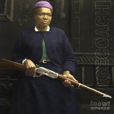 Stagecoach Mary   Mary Fields 20130518 Square With Text Photograph - Stagecoach Mary ...
