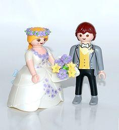 Playmobil Jeunes mariés . http://www.playboutik.com/achat-jeunes-maries-405567.html