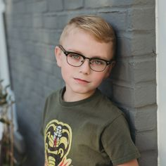 These browline Lunettos Cameron frames have kid-friendly spring hinges and style so big they'll be all the talk on the playground. Boys Glasses, Eye Doctor, Spring Hinge, Tween, Eyeglasses, Children, Kids, Eyewear, Style