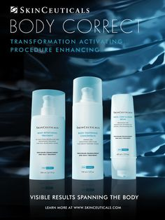 I just saw SkinCeuticals new BODY CORRECT product range and entered their Pin It! Explore! Win It! contest for my chance to win exclusive SkinCeuticals prizes.