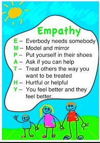TEACHING YOUR CHILD EMPATHY Empathy means caring and understanding how others feel. When your baby was born, you started teaching empathy when you. Coping Skills, Social Skills, Life Skills, Relation D Aide, Teaching Empathy, Teaching Kids, Teaching Kindness, School Social Work, High School