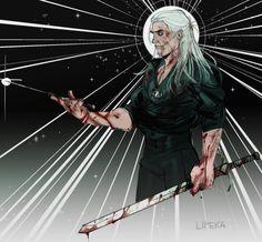 The Witcher Series, The Witcher Books, Witcher 3 Art, The Witcher Geralt, Nerd, Monster Hunter, Home Art, Fanart, Fantasy Art